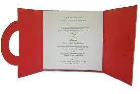 Pakistani Wedding Invitation Cards W0861 Regal Red Gold Filigree Wedding Invitations 0 65