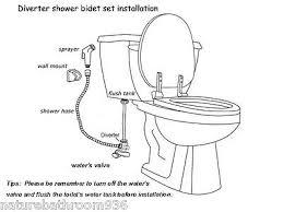 Handheld Bidet Sprayer Set For Toilets Handheld Shower Head Toilet Bidet Spray Wash Jet Shattaf
