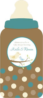 bird baby shower brown and blue and baby bird baby shower invites boy baby