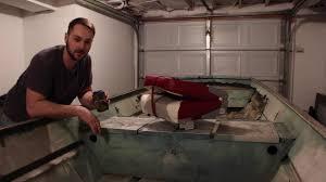 jon boat to catfish rig installing seats in a jon boat youtube