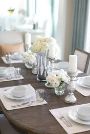 how to decorate a dining table dining table centerpieces for home 25 best ideas about dining room