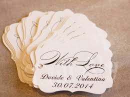 wedding favor tags personalized wedding favor endearing wedding favor tags wedding