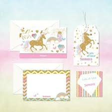 personalized stationery sets customized children lifestyle products my baby babbles