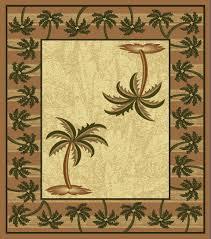 mustard bahamas palm tree rug 2320 bahamas throw rugs