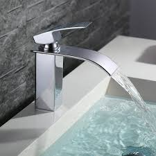 Bad Armatur Homelody Bad Waschbecken Armatur Chrom Wasserfall Wasserhahn
