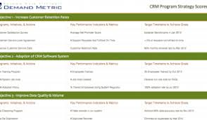 crm system rfp template demand metric