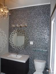 bathroom wall tiles design at simple terrific gray mosaic bathroom