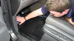 nissan rogue floor mats review of the husky front floor liners on a 2013 honda odyssey