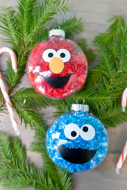 diy sesame street ornaments hey let u0027s make stuff