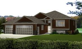 bi level house plans with attached garage awesome bi level floor plans with attached garage pictures home