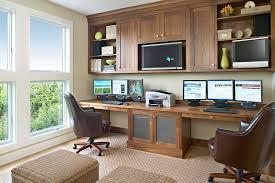 Built In Desk Ideas Built In Desk Ideas Home Office Beach Style With Wicker Trunks
