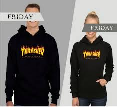 brand thrasher men sweatshirt hoodie jacket coats women for sale