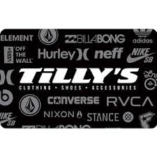 s gift card tilly s gift card 25 50 or 100 email delivery ebay