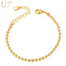 aliexpress buy new arrival men jewelry gold silver aliexpress buy u7 chain bracelets for women men jewelry