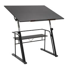 amazon com studio designs zenith drafting table in black 13340