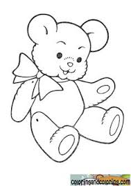 pictures teddy bear coloring pages teddy bear coloring