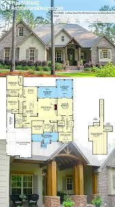 brick home floor plans house plan architectural designs craftsman house plan 51746hz has