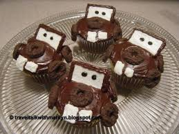 this time i made some tow mater cupcakes tow mater is an adorable character from the disney s cars s check out my other posts for the alien from toy