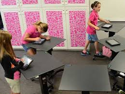 learning desk for education charging carts and standing desks for schools ergotron
