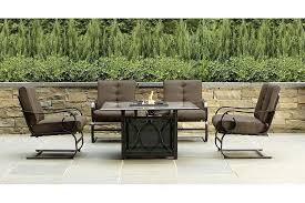 Fire Pit And Chair Set Fire Pit Table And Chairs Costco Design And Ideas