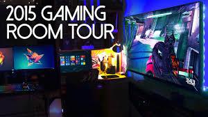 my 2015 ultimate gaming setup room tour youtube loversiq