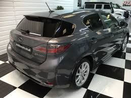 lexus hybrid hatchback second hand lexus ct 200h 1 8 se l 5dr cvt auto for sale in