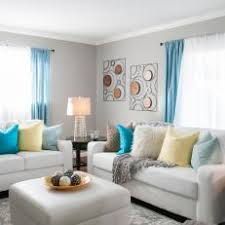 Gray And Gold Living Room by Yellow Contemporary Living Room Photos Hgtv