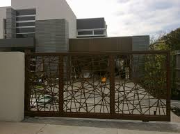 simple modern gate designs for homes with iron main entrance