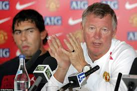 rip fergie manchester city star carlos tevez sparks controversy