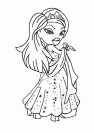 Coloring Bratz Coloring Pages Games Together With Bratz Boyz Bratz Coloring Pages