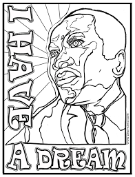 I Have A Dream Mlk Coloring Page Pearmama Mlk Coloring Pages