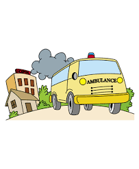medical ambulance coloring pages kids color print