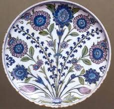 Ottoman Pottery And Ottoman Pottery Shallow Dish Ashmolean Museum