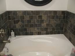 Bathroom  Splendid Installing Bathtub Backsplash  Stunning Tile - Bathtub backsplash