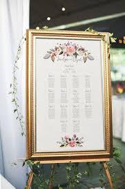 wedding seating chart ideas floral wedding seating chart printable seating chart wedding