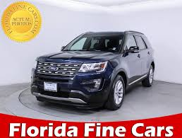 cars ford explorer used ford explorer suv for sale in miami hollywood west palm