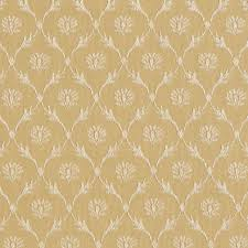 gold floral trellis jacquard woven upholstery fabric by the yard