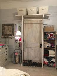 How To Build A Closet In A Room With No Closet Free Standing Closet Made With An Old Door Hometalk