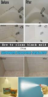 Silicone For Bathtub How To Clean Black Mold From Shower Silicone Sealant