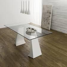 tavoli design cristallo tavoli in vetro di design con gambe in acciaio legno o pietra
