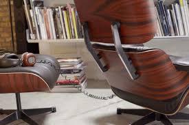 vitra lounge chair u0026 ottoman beauty versions walnut with white