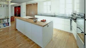 cuisine americaine appartement cuisine bois et blanc lovely idee cuisine americaine appartement