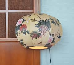 Paper Pendant Shade Hanji Paper Pendant Light From South Korea First Official