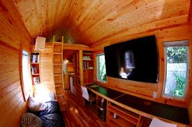 Tiny Houses Inside Vagavond Tiny House Tour By Wood U0026 Saw Youtube