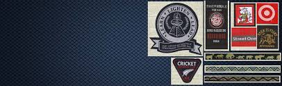 design label woven custom woven clothing and garment labels manufacturers in tirupur india