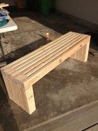 simple box joint 2x4 bench furniture pinterest 2x4 bench