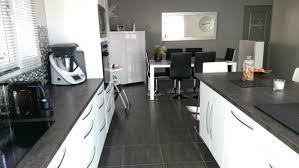 cuisine moderne blanc laqué cuisine blanc laque et gris idées de décoration capreol us