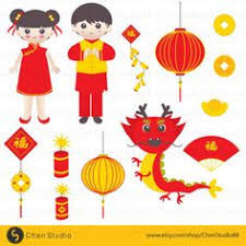 kung hei fat choi chinese new year digital clip art for
