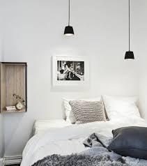 luminaire chambre à coucher 1001 idées pour une le de chevet suspendue dans la chambre