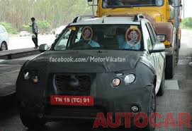 nissan terrano vs renault duster pics nissan terrano spotted testing in chennai edit now unveiled